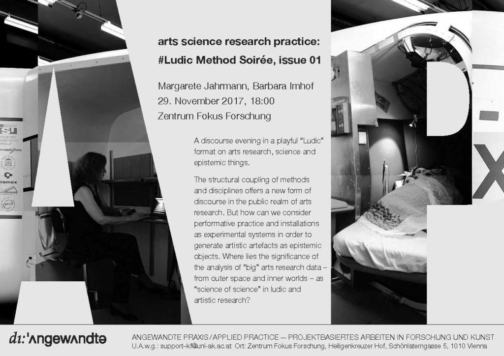 #Ludic Method Soirée Issue 01